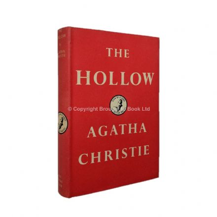 The Hollow Agatha Christie First Edition The Crime Club by Collins 1946